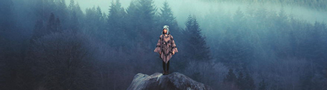 Portada paisajes y aventureros autoretratos canadiense