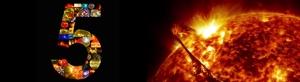 portada 5 años observando el sol NASA
