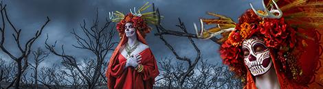 portada dia de los muertos katrinas las muertas