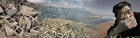 portada contaminacion y sobrepoblacion