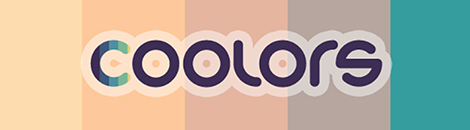 coolors portada apliccion paletas