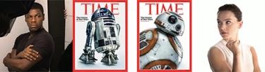 portada star wars retratos el despertar de la fuerza TIME magazine revista