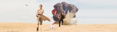 portada Rey y Finn inspirados colsplay star wars pareja enamorados sesion comprometidos